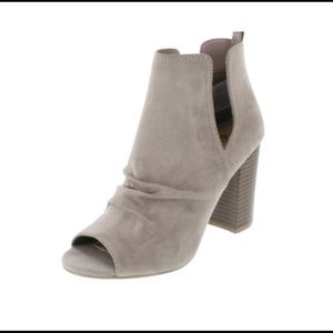 Trendy Cut Out Open Toe Bootie